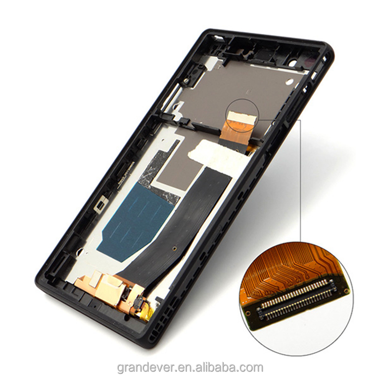 Hot sale replacement digitizer lcd touch screen for sony zperia z 136h