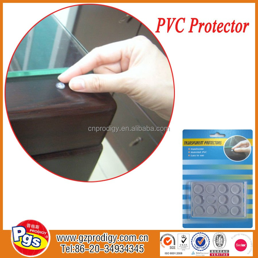 soft black clear rubber antislip rounded self adhesive bumper rubber feet sticky clear pvc pad