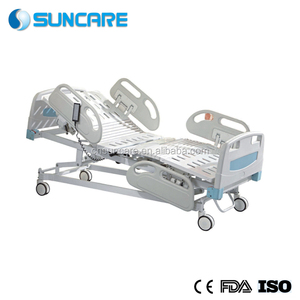 Hospital 5-Function Electric Bed (soft connection board) for ICU