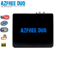 update azbox satellite antenner receiver azfree duo with iptv 3G iks sks satellite hd receivers for south america