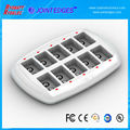 2017 hot sale 10 Slot 9V NiMH Smart Charger