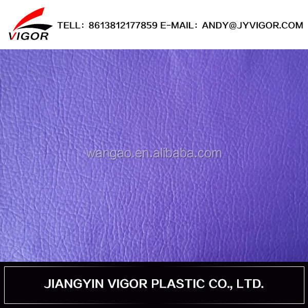 Newest strong backing and new pattern perforated leather fabric
