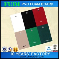 2016 colored good quality foam board mounting, modelling foam board
