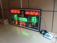 Indoor Led Electronic Basketball Scoreboard with controller