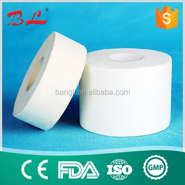 5cm*5m Sport Adhesive Tape Zinc oxide glue Surgical Cotton Tape(M)