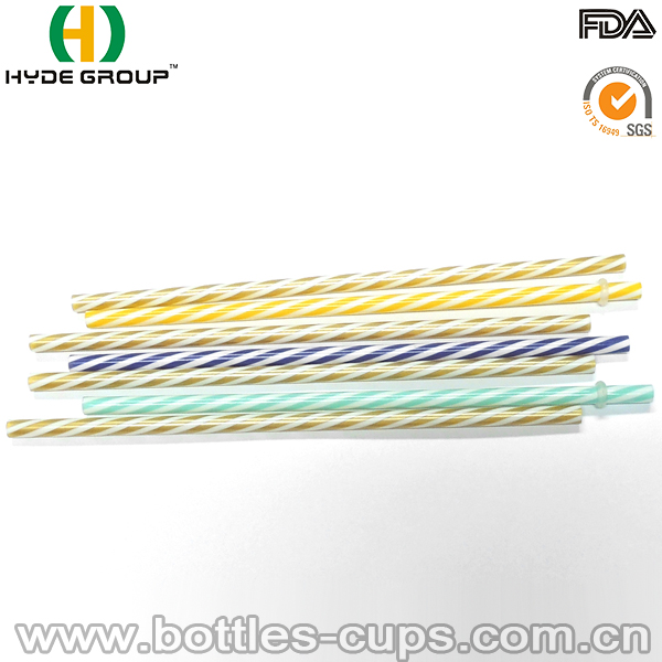 Wholesales Reusable Plastic Hard Drinking Straw in Many Color