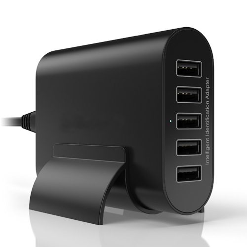 Desktop usb charging atation 50W 10A 5 port power adapter