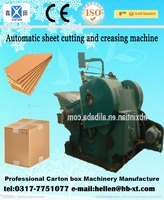 High Speed And Good Quality Corrugated Paperboard Automatic Die Cut And Crease Line Machine For Carton Box