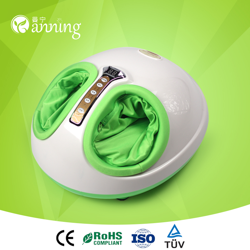 High grade china foot detox machine,china best products infrared heating foot massager,circulation aiding foot massager