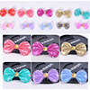 All Match Diamond Multicolor Bow Metal