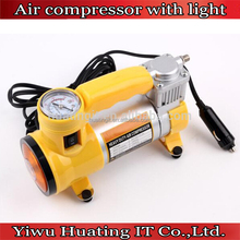 12v Car 150 PSI Auto Digital Tyre Air Compressor Inflator Electric Pump with light