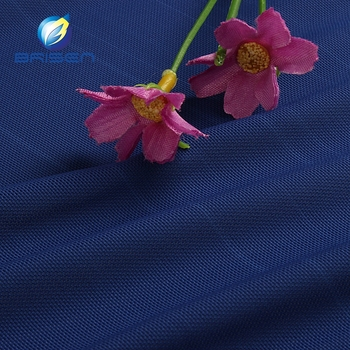 Soft elastic blue athletic spandex fabrics