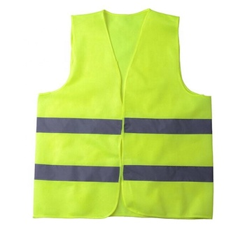 High Visibility Safety Vest Warning Reflective traffic working Vest