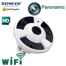 5MP 3MP 2MP 2592*1944 network PTZ view 180 / 360 degree panoramic ip fisheye camera