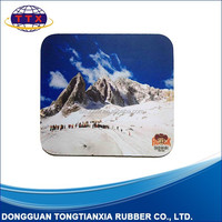 Customized sublimation promotional gift rubber mouse pads