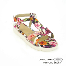 high quality best price simple style open toe baby sandal king design
