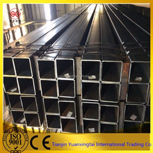 HSS s275jr galvanized hollow section square tube Yuantaiderun Pipe Making Group