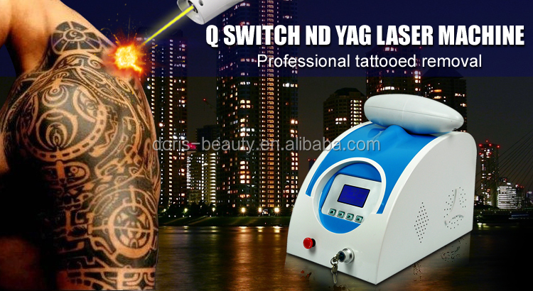 Nd yag q-switch laser laser hair and tattoo removal machine $keywords$ DO-T01