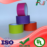 printed clean strong adhesion cloth duct tape