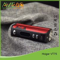 Evolv dna75 26650 battery and 18650 battery box mod Hcigar vt75 from AVE40