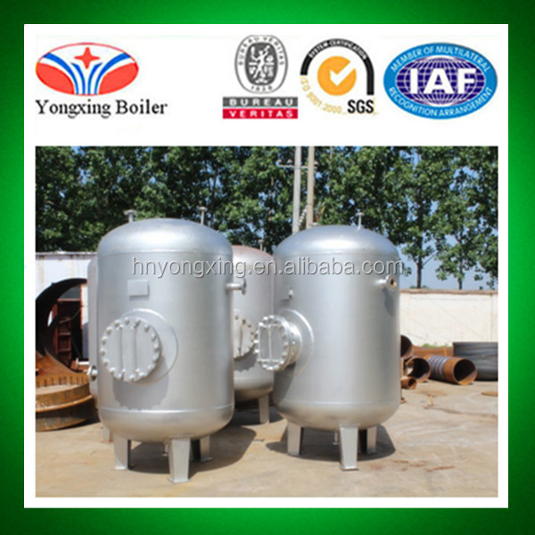 New Condition and Vertical Stainless Steel Pressure Container Vessel