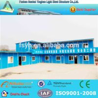 Modern modular pre steel ready made prefabricated timber homes for office