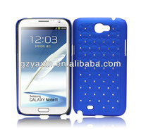 Wholesale rubberized hard design keyboard case for samsung galaxy note 2 cell phone cases