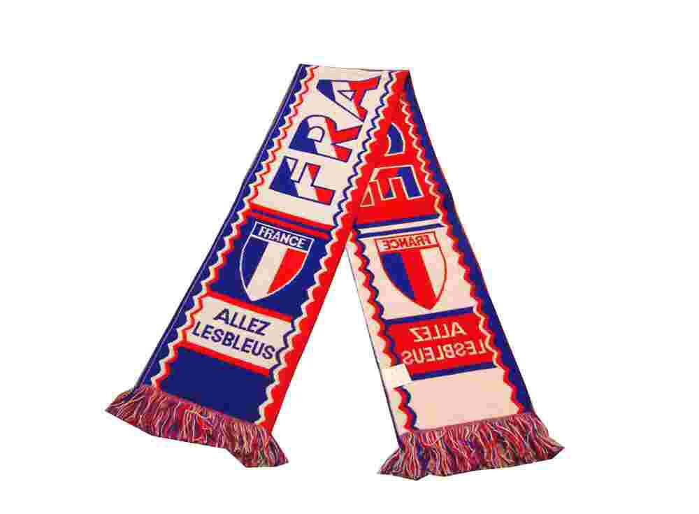 2016 euro football fans scarf yarn for knitting scarf fabric