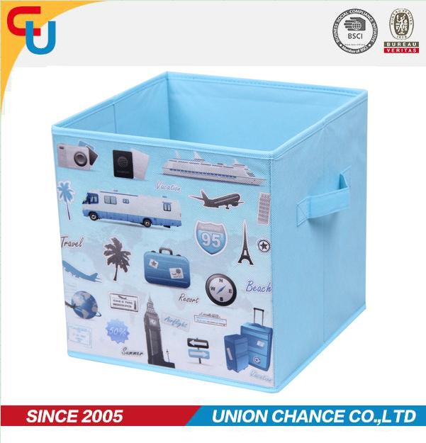 fabric Foldable nonwoven storage box cube storage
