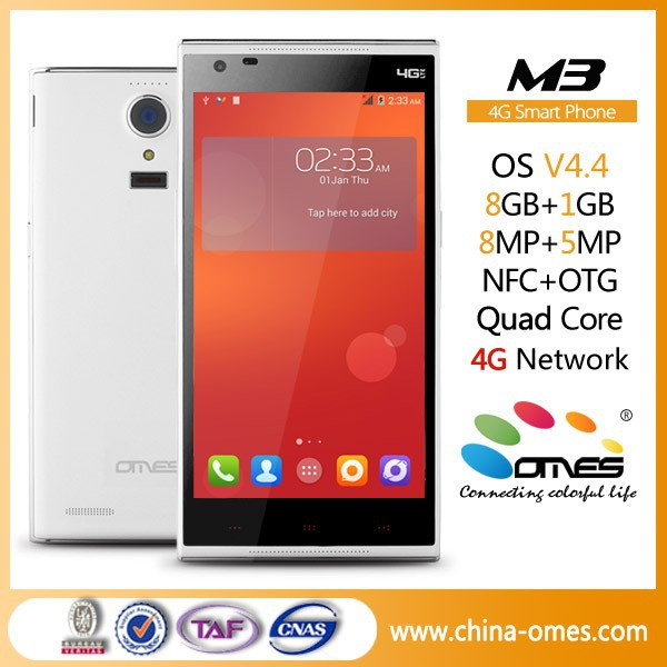Hot Sale EU Market OMES Mobile M3 5.0 inch HD IPS Screen 13MP Camera Quad Core factory unlocked cell phone 4G FDD LTE