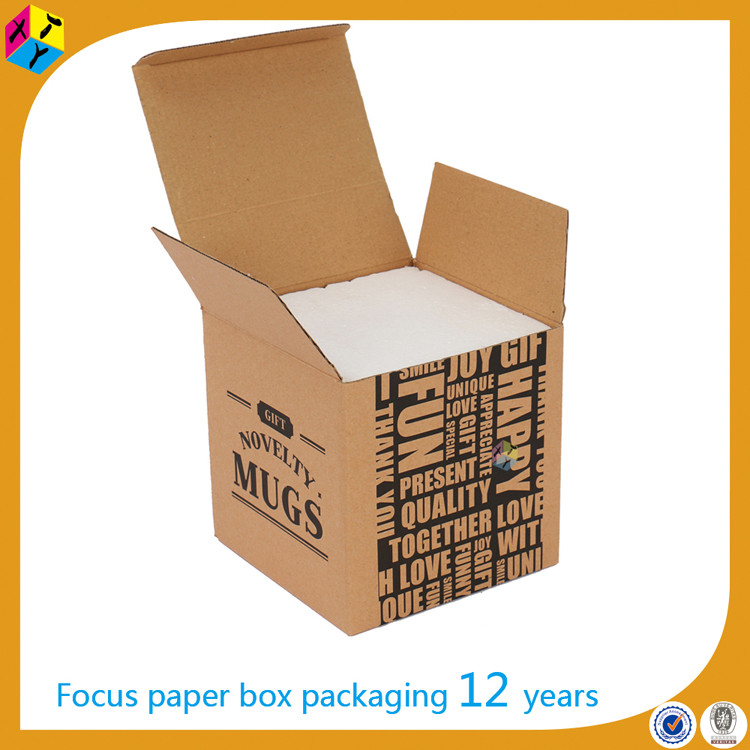 brown corrugated shipping carton board packaging