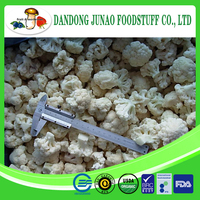 supply frozen vegetable IQF bulk frozen cauliflower