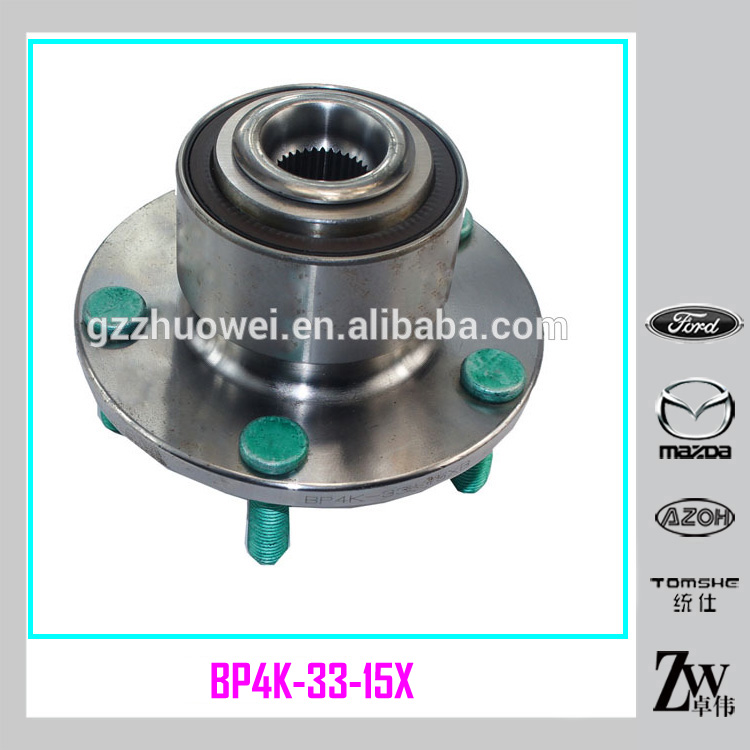 Original Japan High Quality Wheel Hub Unit Car ATV Front Wheel Hub For Mazda M5 / BK BP4K-33-15XA / BP4K-33-15X