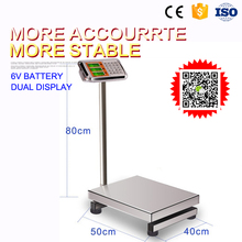 300kg 400kg electronic weighing scales with sensor