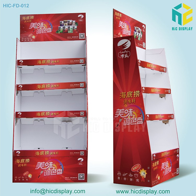 HIC Factory Pop Display, Best Seller Corrugated Pop up Display