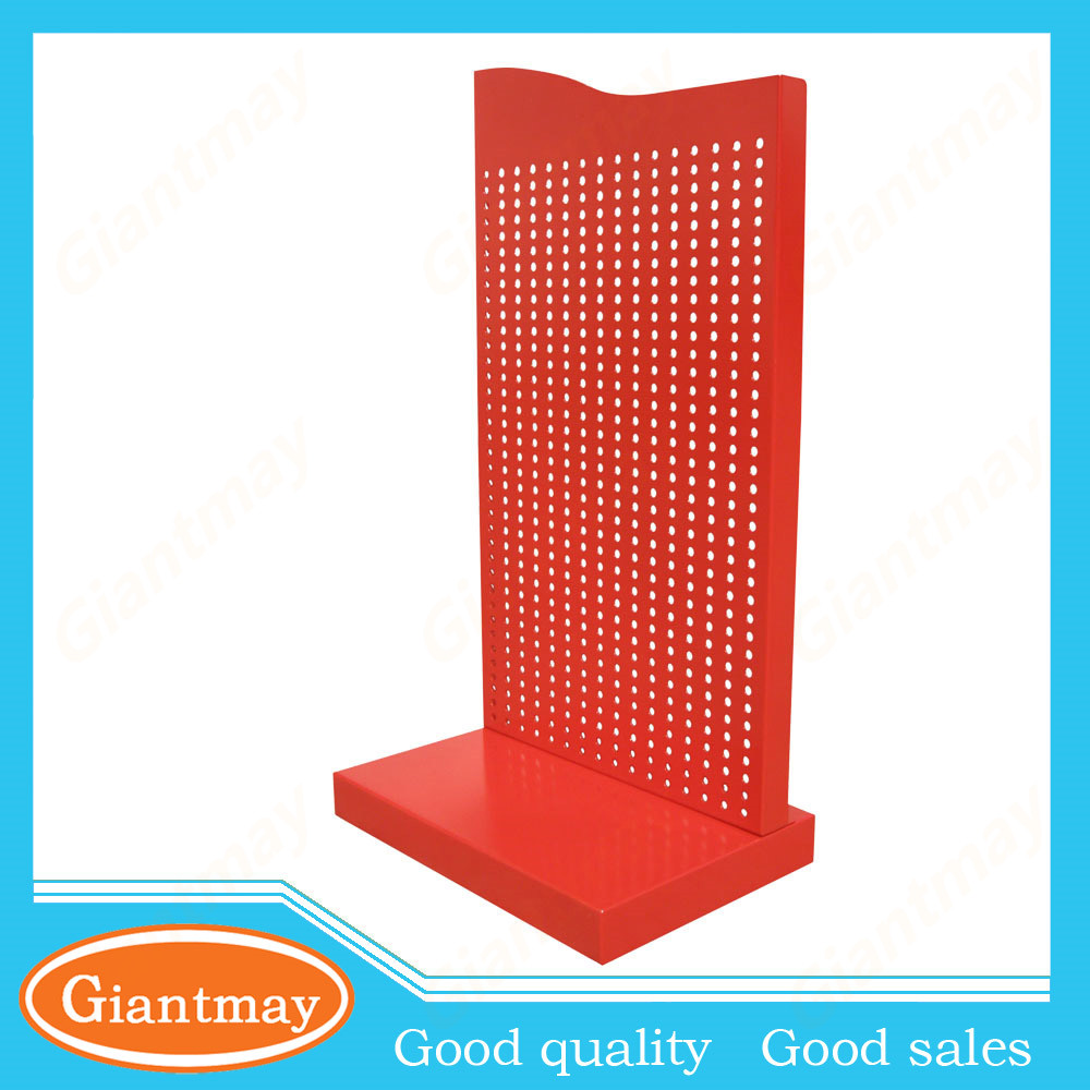 pegboard counter top stand metal small display