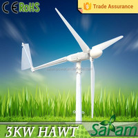 Home use 3KW decorative wind turbine