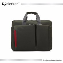 2016 OEM 17 inch nylon fashion business computer high end man laptop bag