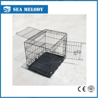 Portable pets puppy cage pet kennel for dog