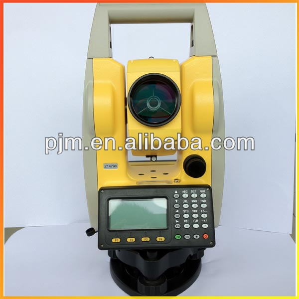 promotion for china brand total station PTS-120/120R reflectorless prismless surveying total station cheap price