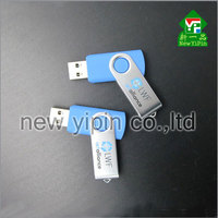Top selling cheapest colorful 8gb twister usb flash drive rotating 16gb USB disk with your custom logo