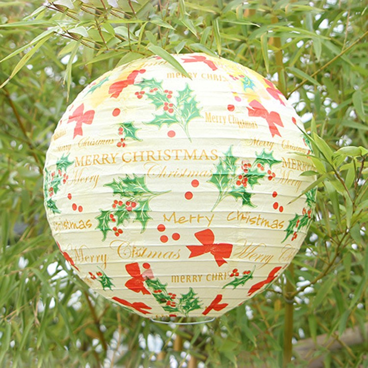 Party Decoration Silver Paper Lantern