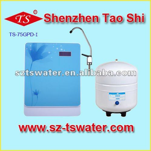 75GPD household water purifier and filters 5 stages blue aqua