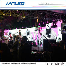 high efficient heat radiation p3.91 led rental display