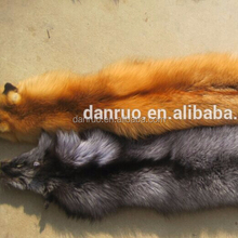 Hot Selling 2016 Factory New Fashion Raw Fox Skins