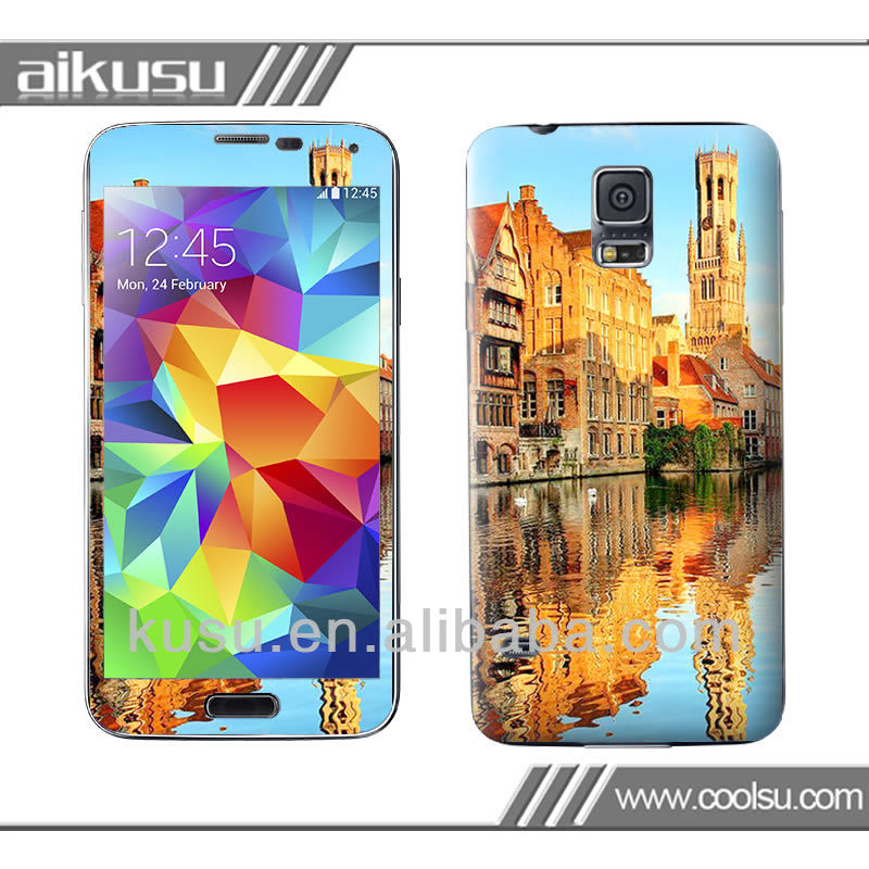 3M mobile phone vinyl skin for galaxy S5