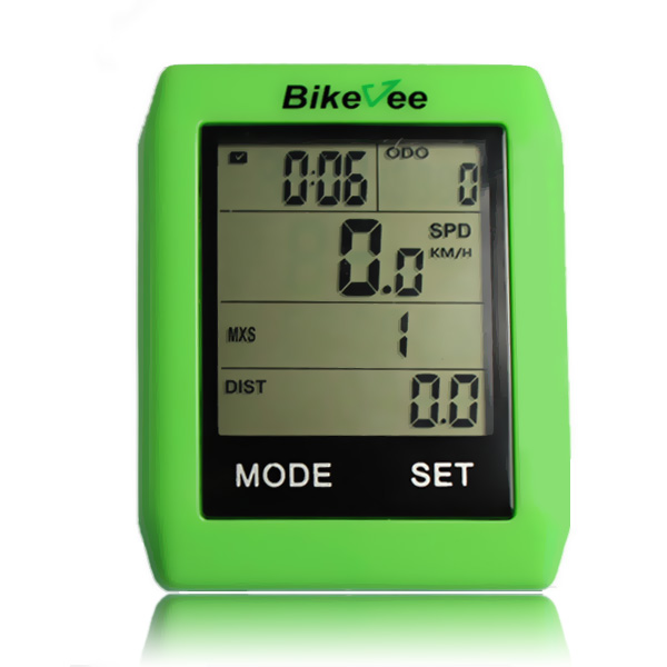 BKV-6001 cycling without gps computer wireless cadence cycle computer odometer for cheap bicycle trike speedometer