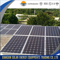 high power efficiency industrial Mono Solar panel