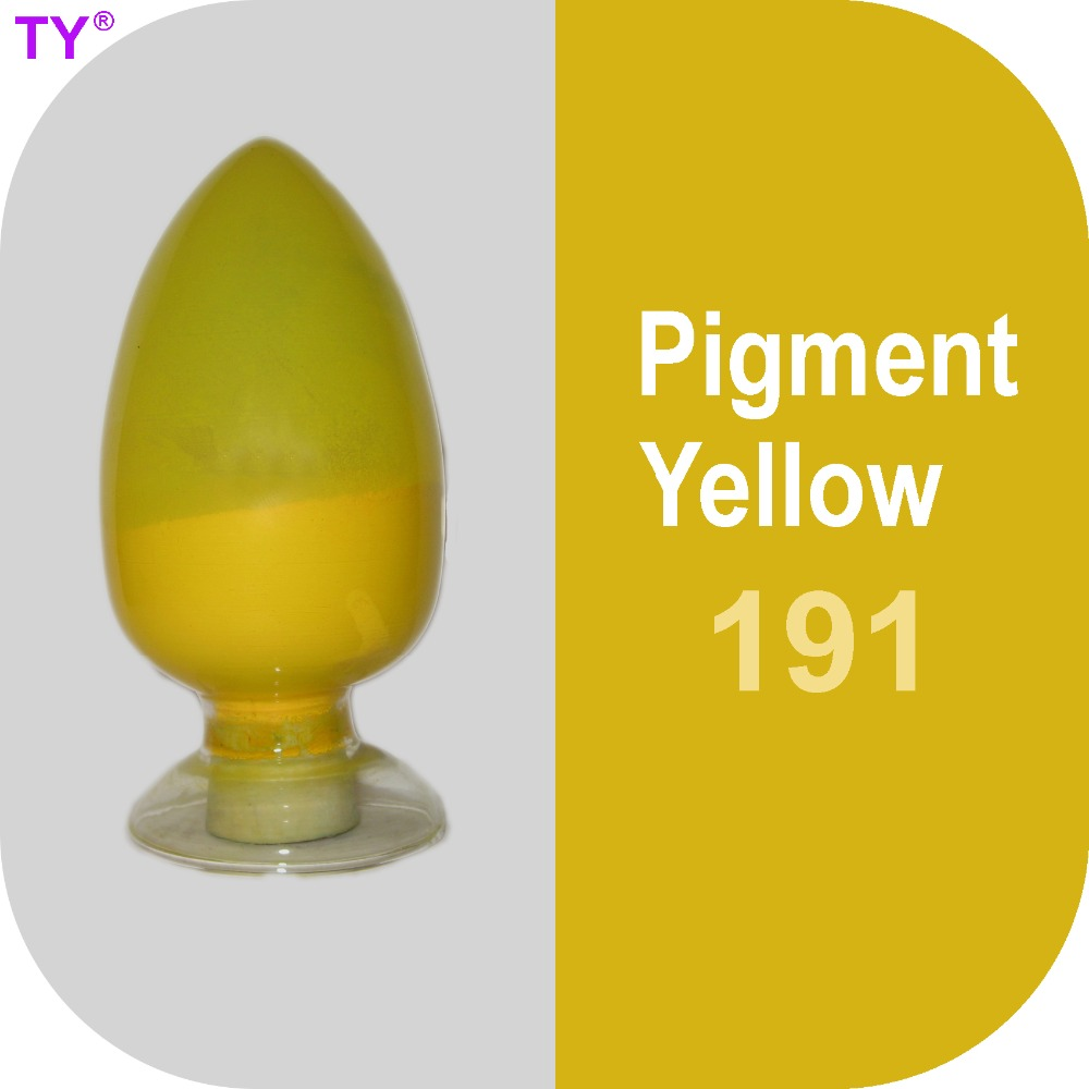 Pigment Yellow 191 Colored Powder with High Tinting Strength