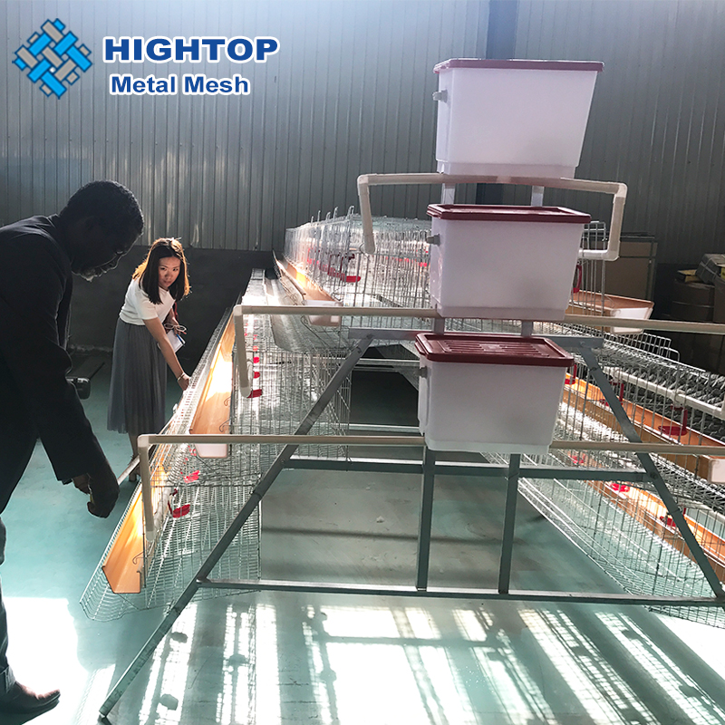 High Quality 3 Tiers 4 Tiers Battery Chicken Layer Laying Hen Cage For Sale